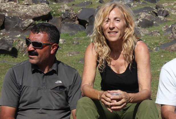 Murat Şahin, ground operator and mountaineer guide; Amy Beam, Mount Ararat tour operator and reservations