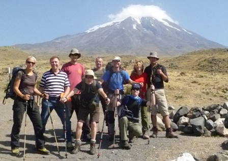 Mount Ararat meltback in August