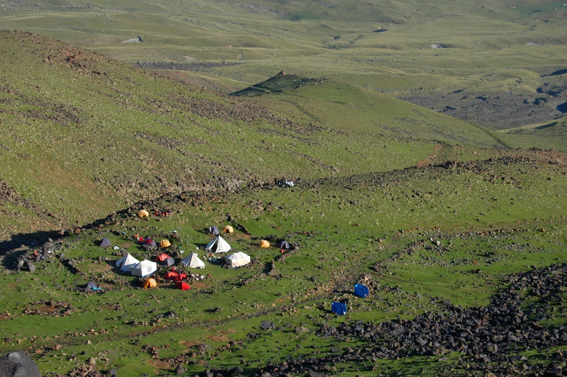 Mt. Ararat Camp 1, 3200 meters