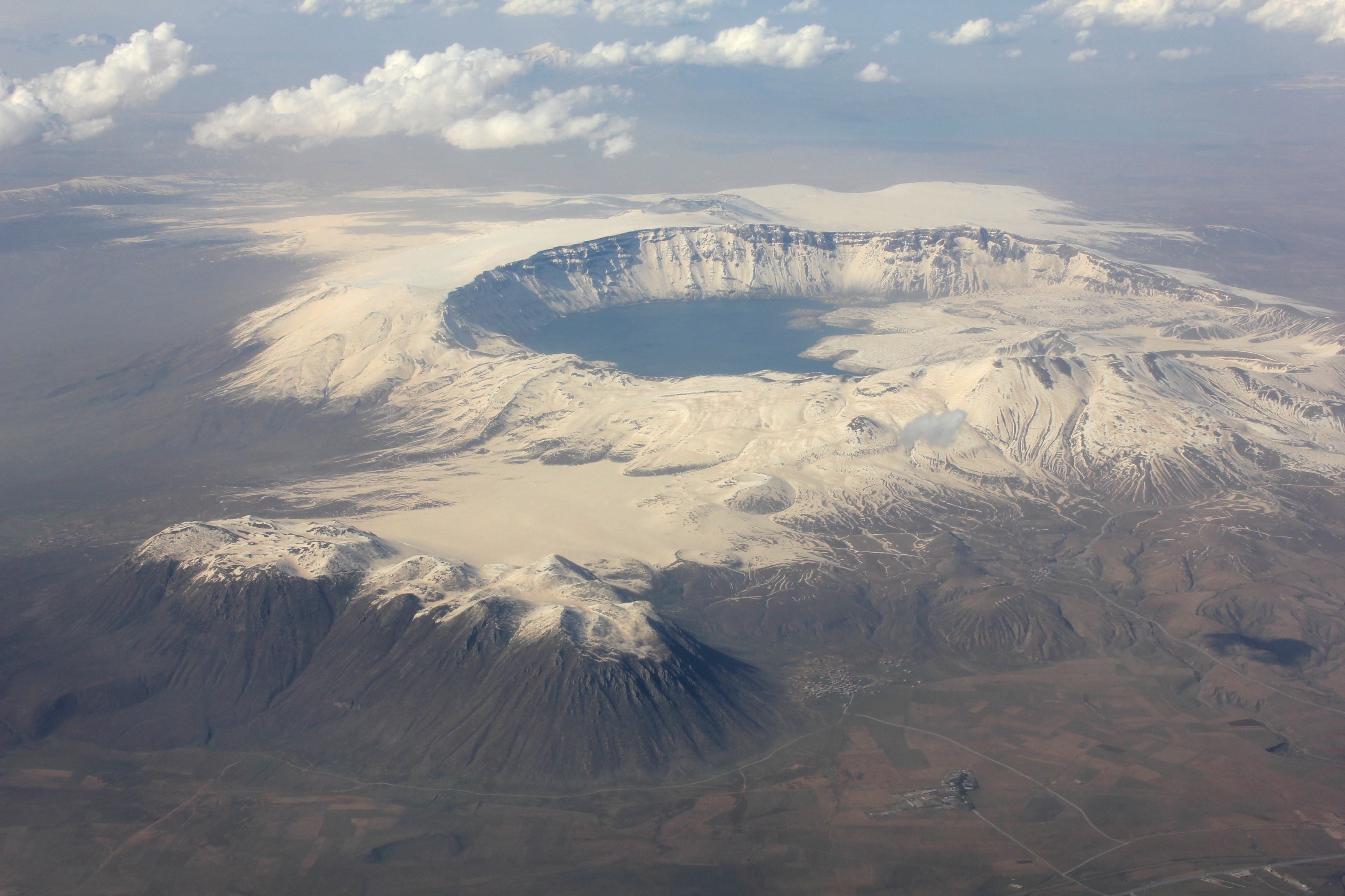 Nemrut Crater west of Lake Van